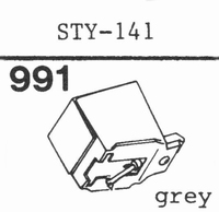 SHARP STY-141 Stylus, diamond, stereo