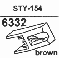 SHARP STY-154 BROWN Stylus, DS<br />Price per piece