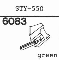 SHARP STY-550 Stylus, diamond, stereo