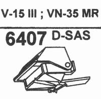 SHURE VN-35 MR - SAS TIP Stylus, D-SAS