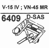 SHURE VN-45 MR - SAS TIP Stylus, D-SAS