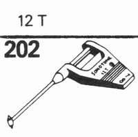 SONOTONE 12-T Stylus, SN/DS<br />Price per piece