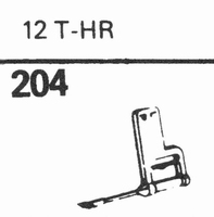 SONOTONE 12-T-HR Stylus, sapphire normal (78rpm) + sapphire
