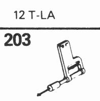 SONOTONE 12-T-LA Stylus, sapphire normal (78rpm) + sapphire