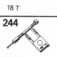 SONOTONE 18-T Stylus, sapphire normal (78rpm) + sapphire ste