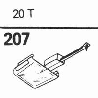 SONOTONE 20-T 78-RPM DIAMOND Stylus, Diamond, normal (78rpm)
