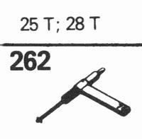 SONOTONE 25-T, 28-T Stylus, sapphire normal (78rpm) + sapphi