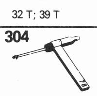 SONOTONE 32-T, 39-T Stylus, sapphire normal (78rpm) + sapphi