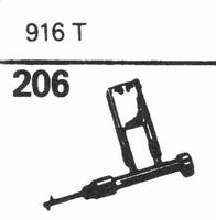SONOTONE 916-T Stylus, sapphire normal (78rpm) + sapphire st