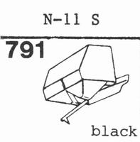 SONOVOX N-11 S, Stylus, diamond, stereo