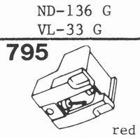 SONY ND-136 G; VL-33 G Stylus, DS