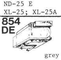 SONY ND-25 E; XL-25; XL-25 A Stylus, DE