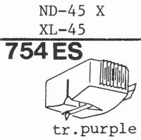 SONY ND-45 X, XL-45 Stylus, SHIBATA