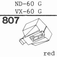 SONY ND-60 G; VX-60 G Stylus, DS
