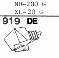 SONY XL-20 G/ ND-200 G Stylus, DE