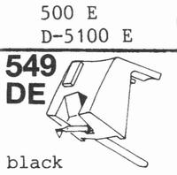 STANTON 500 E, 500 EE Stylus, DE