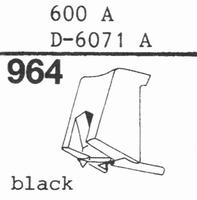 STANTON 600 A, D-6071 A Stylus, DS
