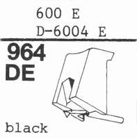 STANTON 600 E Stylus, DE