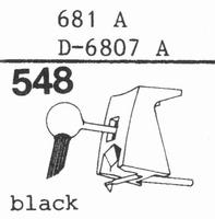 STANTON 681 A, D-6807 A Stylus, DS