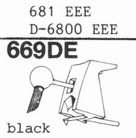 STANTON 681 EEE; D-6800 EEE Stylus, DE