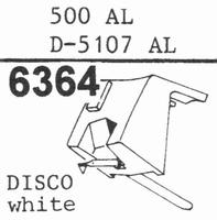 STANTON D-5100 AL - DJ STYLUS, Stylus, diamond, stereo