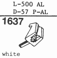 STANTON D-57 P-AL Stylus, COPY<br />Price per piece