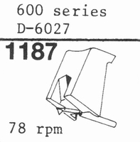 STANTON D-6027 (78 RPM !) Stylus<br />Price per piece