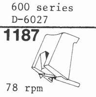 STANTON D-6027 (78 RPM !) Stylus