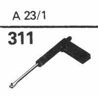 TELEFUNKEN A-23/1 Stylus, diamond, stereo