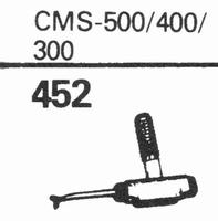 TELETON CMS-500/400/300 Stylus, diamond, stereo