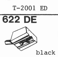 TENOREL T-2001 ED BLACK  Stylus, diamond, elliptical