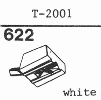 TENOREL T-2001 WHITE Stylus, diamond, stereo-WHI