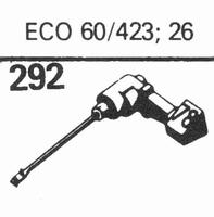 TEPPAZ ECO 60/432, 26 Stylus, sapphire normal (78rpm) + sapp