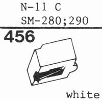 TOSHIBA N-11 C, SN-280, 290 Stylus, diamond, stereo