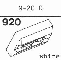 TOSHIBA N-20 C Stylus, diamond, stereo