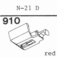 TOSHIBA N-21 D Stylus, diamond, stereo