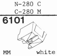 TOSHIBA N-280 C Stylus, diamond, stereo