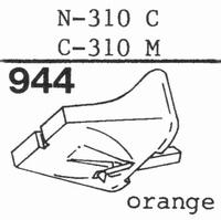 TOSHIBA N-310 C, C-310 M Stylus, diamond, stereo, originalAN