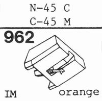 TOSHIBA N-45 C, C-45 M Stylus, diamond, stereo