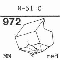 TOSHIBA N-50 C, N-51 C Stylus, diamond, stereo