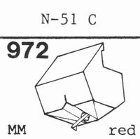 TOSHIBA N-51 EC ELLIPTICAL Stylus, DE<br />Price per piece