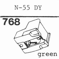 TOSHIBA N-55 D Stylus, diamond, stereo