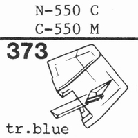 TOSHIBA N-550 C, C-550 M Stylus, diamond, stereo