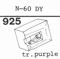 TOSHIBA N-60 C, N-70 C Stylus, diamond, stereo, original