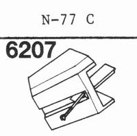 TOSHIBA N-77 C Stylus, diamond, stereo