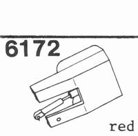 U.P.O.'S. RED CZ-699-4 Stylus, diamond, stereo
