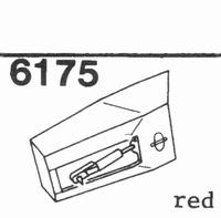 U.P.O.'S. RED ALL PLASTIC Stylus, DS<br />Price per piece