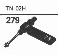 VACO TN-02-H Stylus, sapphire normal (78rpm) + sapphire ster