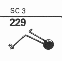 WEBSTER ELECTRIC SC-3 Stylus, sapphire normal (78rpm) + sapp