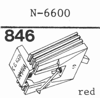 YAMAHA N-6600 Stylus, diamond, stereo, original